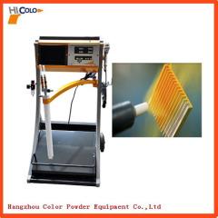 Vibratory powder coating equipment