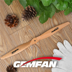 2 blades 1660 Beech Wood airplane mini drone propeller