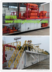Vertical Cutting Dryer for drilling waste