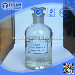Glacial Acetic Acid GAA CAS 64-19-7 Ethanoic acid Industrial grade