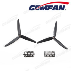 6 pcs 7 inch 7x3.5 3 blades cw ccw abs propeller props for airplane kits