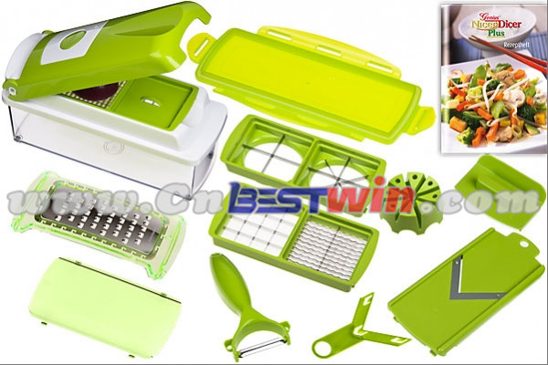 how to use nicer dicer vegetable cutter