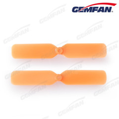 2.5x1 inch fpv small mini ABS CW propeller