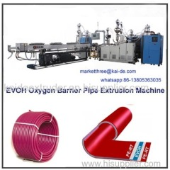 PEX EVOH pipe production line supplier from China KAIDE