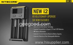 Nitecore charger I1 I2 NEW 12 I4 D2 D4 UM20 SC2 multifunction battery charger 18650 26650 18500 Ni-Mh battery charger