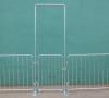 Flatbase Portable Steel Pedestrian Barricades