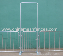 Light weight interlocking steel barriers