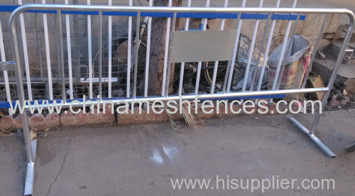 Hot-dip Galvanized Crowd Control Barriers/Crowd Control Fencing
