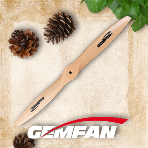 Fixed wings propeller 14 inch 1460 wood propellers for gas motor