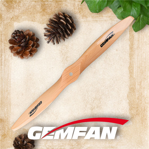 2010 2 blades gas motor wooden propeller for wooden airplane toys