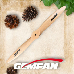 2014 2 blades gas motor wooden propeller for wooden airplanes