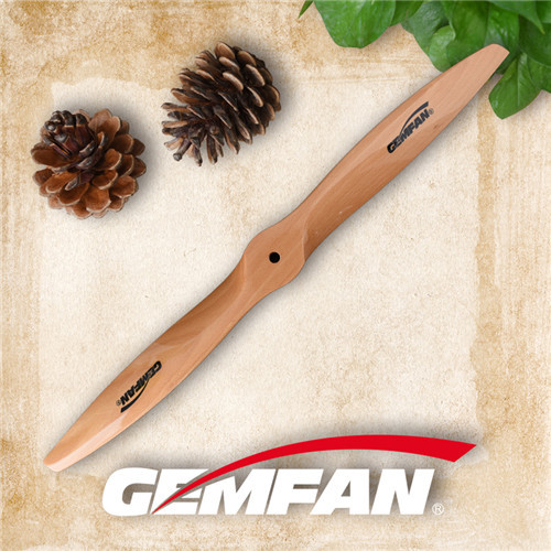Wood Propellers For Aircraft with 2380 2 blades gas motor