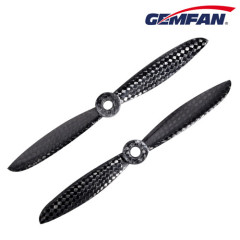 CW black 5x4.5 inch Carbon Nylon 2 blades propeller for rc aircraft