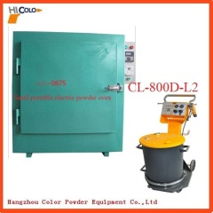 Small Batch Production Powder Curing Oven