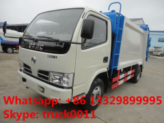 LHD or RHD 95hp garbage compactor truck for sale