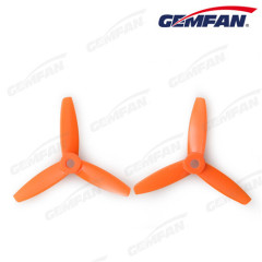 3 blade 3x3.5 inch bullnose PC rc quadcopter CCW propeller kits