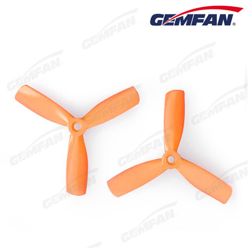 4 inch 4x4.5 3 blades BN PC bullnose scale model airplane propellers with CW