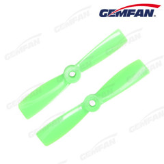 4x4.5 Bullnose Glass Fiber Propeller 4045 Black Orange Green Color Freeshipping