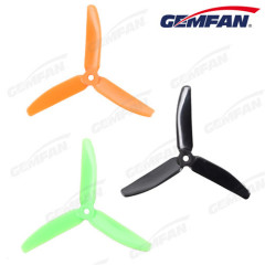 5x4 inch Virtually Unbreakable 3-blades Propellers for QAV250 Mini Racing Quadcopters Made From Special PC