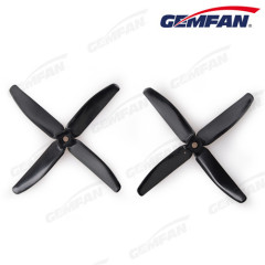 CCW 4 blades 5x4 inch PC drone bullnose BN rc mulitimotor propeller