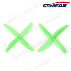 5x4 PC plastic model plane props with 4 rc multicopter blades with ClockWise