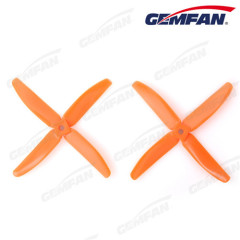 5x4 inch PC plastic model plane props with 4 blades