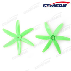 5x4 6pcs 6 blades pc propeller props for fpv quadcopter with cw ccw