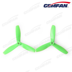 Gemfan 5045 Black/Green/Orange Propeller Props 3 Blade RC QuadCopter Drone