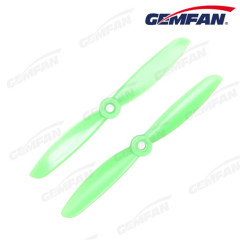 2-Blade BN 5x4.5 inch Bull Nose Propeller PC Prop CCW CW for DIY RC Multirotor Quadcopter (Black Green Orange)