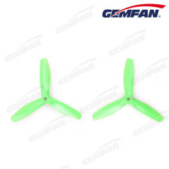 5 inch 3 blades 5050 pc bullnose peopeller props for fpv helicopter with CW CCW type