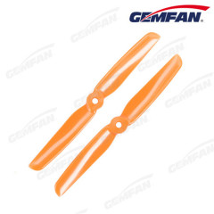 6x3 inch PC plastic model plane with 2 blades propeller