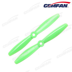 2-Blade 6040 Bull Nose Propeller PC Prop CCW CW for DIY RC Multirotor Quadcopter (Black Green Orange)