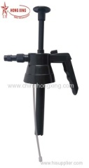 PRESSURE SPRAYER HEAD WITH PLASTIC LANCE AND NOZZLE