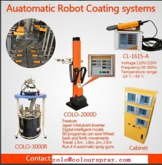 Automatic Robot Powder Coating System