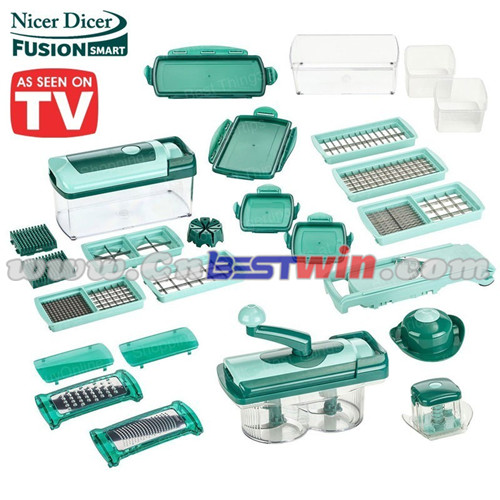 13pc nicer dicer fusion vegetable slicer 2016 new items as seen on tv manufacturers and. Black Bedroom Furniture Sets. Home Design Ideas