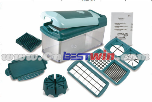 10PC NICER DICER FUSION/FACTORY HOT SELL SLICER/2016 AS SEEN ON TV