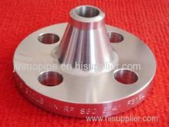 welding neck flange pipe fitting