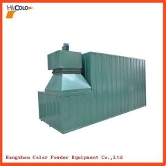 Powder Coat Curing Oven With Gas Heating Type