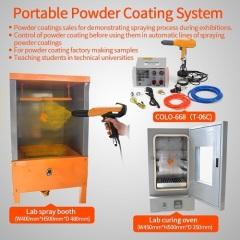 SmallTesting Batch Powder Painting Machine