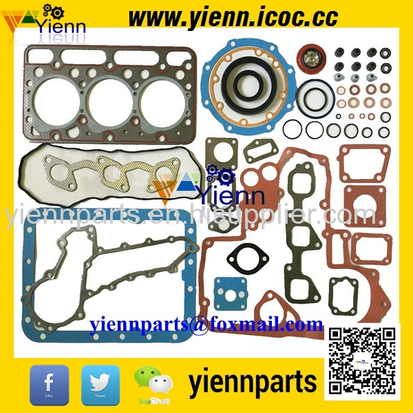 Kubota D1463 Full Gasket Kit With Head Gasket For Kubota