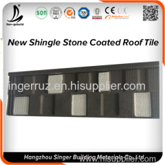 Roofing Material Colorful Stone Granules Coated Roofing Sheet