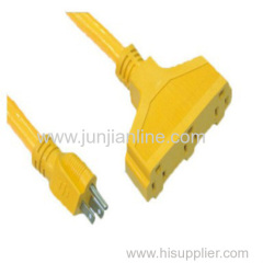 Power cord SJTOW 12-18AWG extension cable
