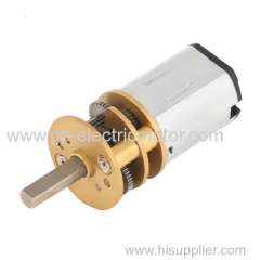 Electric DC Motor With Gearbox For ATM Machine