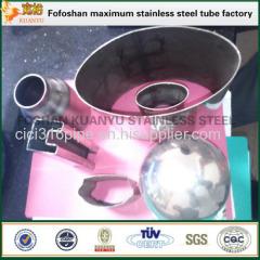 Irregular Size 304 Stainless Steel Slot Tube For Handrail