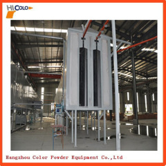 Automatic Powder Coating Plant with Drying and Curing Tunnel Oven