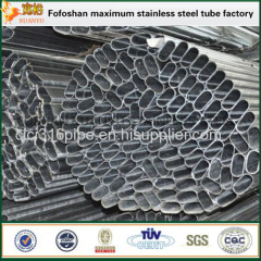 Construction Material 316L Grade Stainlesss Steel Slotted Square Tubing