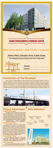 Integrated Plaza Within China's Free Trade Zone for Global Leasing and Sale [China (Mainland)]
