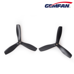 5x4.5 inch Bullnose 3 Blade PC Propeller CW CCW For 1806 2206 Motors ZMR250 QAV250 280