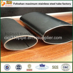Widely Used In Construction Elliptical Stainless Steel Tube Slotting
