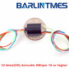 capsule slip ring-12mm(diameter)-4circuits-1A-Barlin Times